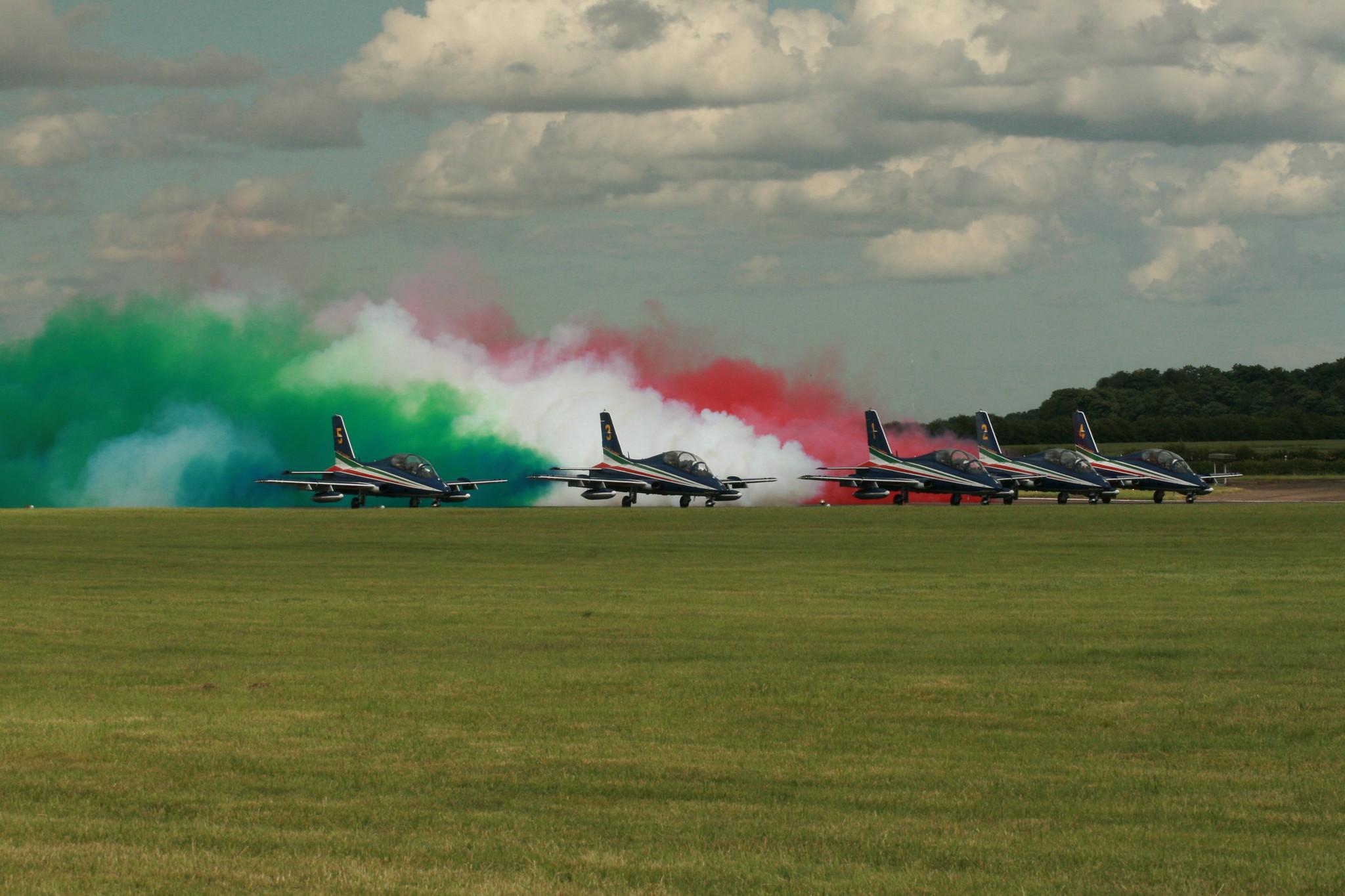 Frecce Tricolori. | Prepairing to take off. | Steve. | Flickr